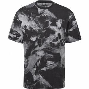 Reebok MEET YOU THERE AOP TEE  XL - Pánské tričko