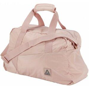 Reebok WOMENS FOUNDATION GRIP růžová UNI - Dámská sportovní taška