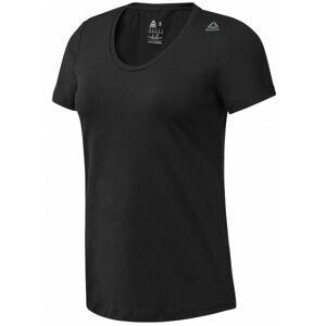 Reebok WOR SW TEE černá S - Dámské sportovní tričko
