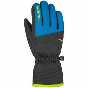 Reusch ALAN JUNIOR černá 5 - Lyžařské rukavice
