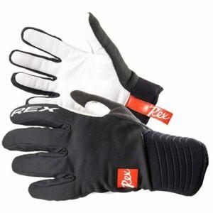 REX THERMO PLUS černá L - Rukavice na běžecké lyžování