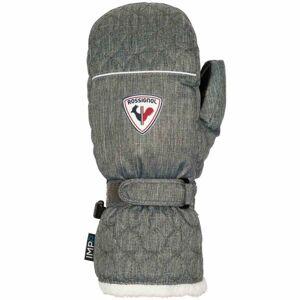 Rossignol W RUBY IMPR M šedá S - Dámské lyžařské rukavice