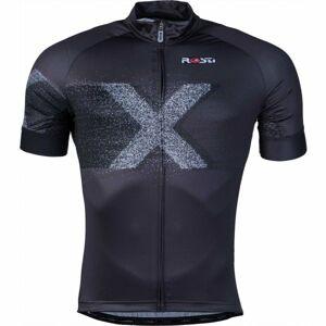 Rosti X DL ZIP černá 4xl - Pánský cyklistický dres
