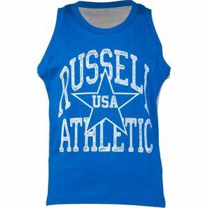 Russell Athletic BASKETBALL CHLAPECKÉ TÍLKO modrá 116 - Chlapecké tílko