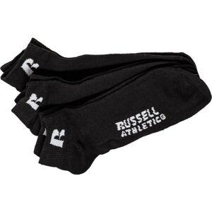 Russell Athletic HALTON černá 39 - 42 - Ponožky