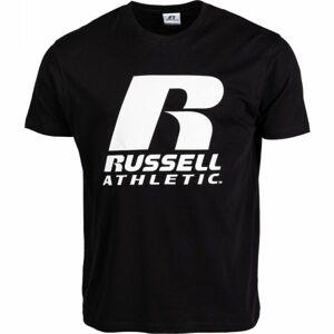 Russell Athletic S/S CREWNECK TEE SHIRT SMU černá S - Pánské triko