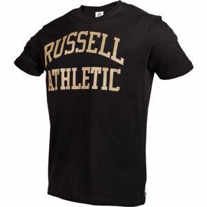 Russell Athletic S/S CREWNECK TEE SHIRT černá S - Pánské tričko
