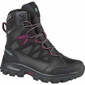 Salomon CHALTEN TS CSWP W černá 5 - Dámská zimní obuv