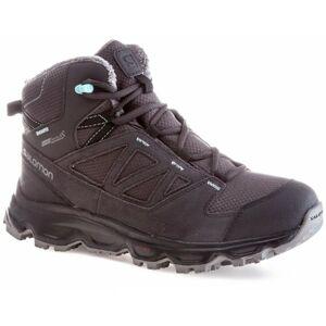 Salomon GRIMSEY TS CSWP W tmavě šedá 4 - Dámská zimní obuv