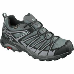 Salomon X ULTRA 3 PRIME GTX šedá 9 - Pánská hikingová obuv