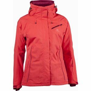 Salomon FANTASY JKT W růžová XS - Dámská zimní bunda