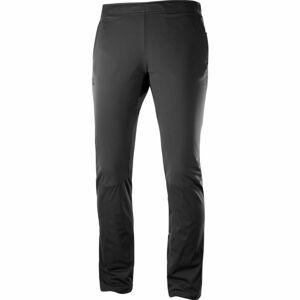 Salomon AGILE WARM PANT W černá S - Dámské běžecké kalhoty