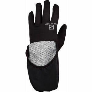 Salomon FAST WING WINTER GLOVE U B černá M - Zimní rukavice