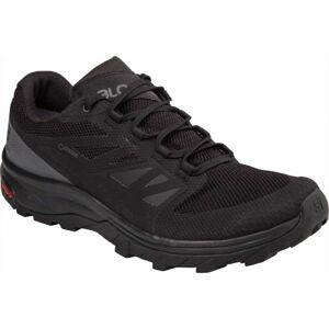 Salomon OUTLINE GTX černá 9.5 - Pánská hikingová obuv