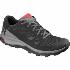Salomon OUTLINE šedá 8.5 - Pánská hikingová obuv