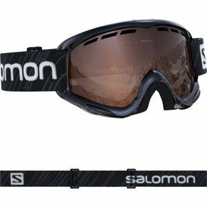 Salomon JUKE černá NS - Juniorské lyžařské brýle
