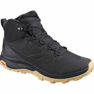 Salomon OUTSNAP CSWP černá 7.5 - Pánská zimní obuv