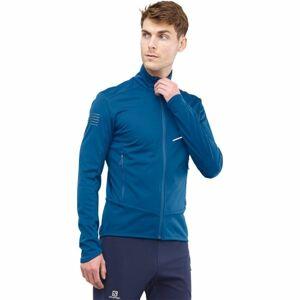 Salomon RS SOFTSHELL JKT M modrá L - Pánská bunda