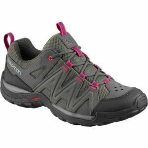 Salomon MILLSTREAM W tmavě šedá 6 - Dámská hikingová obuv