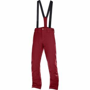Salomon STORMSEASON oranžová S - Pánské lyžařské kalhoty