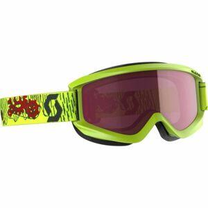 Scott AGENT JR AMPLIFIER žlutá NS - Dětské lyžařské brýle