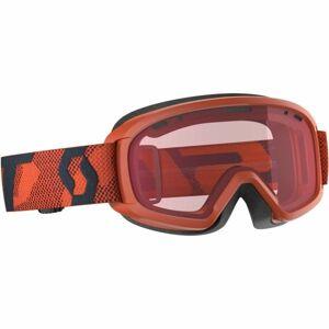 Scott JR WITTY oranžová NS - Dětské lyžařské brýle