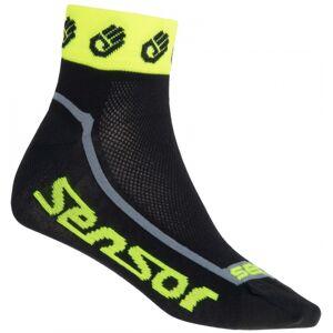Sensor RACE LITE žlutá 39 - 42 - Cyklistické ponožky