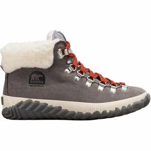 Sorel OUT N ABOUT PLUS CONQUES šedá 9.5 - Dámská zimní obuv