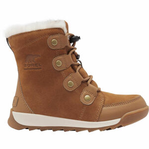 Sorel YOUTH WHITNEY II SUEDE hnědá 5 - Dětská unisex zimní obuv