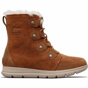 Sorel EXPLORER JOAN hnědá 7 - Dámská zimní obuv