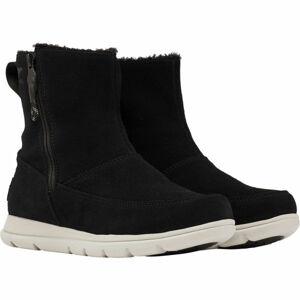 Sorel EXPLORER  ZIP černá 6.5 - Dámská zimní obuv