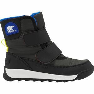 Sorel WHITNEY II STRAP GRY  13 - Dětské zimní boty