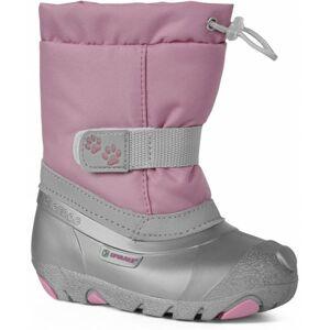 Spirale CERRO růžová 28 - Dětská zimní obuv