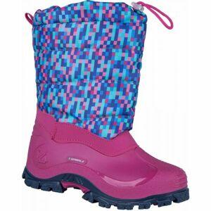 Spirale K6D COLORADO růžová 31 - Dětská zimní obuv