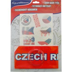 SPORT TEAM FAN SADA ČR 2   - Fanouškovská sada