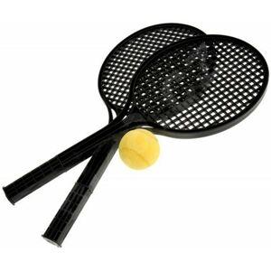SPORT TEAM SOFT TENIS SET černá  - Sada na líný tenis