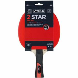 Stiga 2 STAR ROCKET červená  - Pálka na stolní tenis