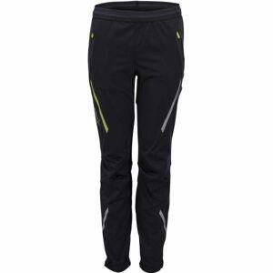 Swix JR CROSS STRAIGHT černá 116 - Dětské sportovní kalhoty