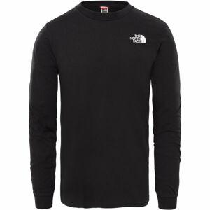 The North Face M L/S SIMPLE DOME TEE  XL - Pánské triko s dlouhým rukávem