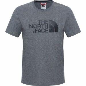 The North Face S/S EASY TEE šedá 2xl - Pánské tričko