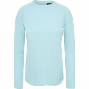 The North Face PRESTA LS W modrá L - Dámské tričko s dlouhým rukávem