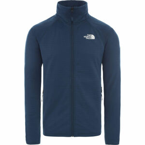 The North Face MEN'S ECHO ROCK FULL ZIP JACKET tmavě modrá S - Pánská bunda