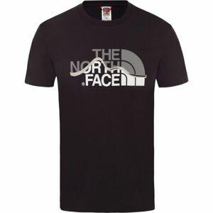The North Face S/S MOUNT LINE TEE černá L - Pánské tričko