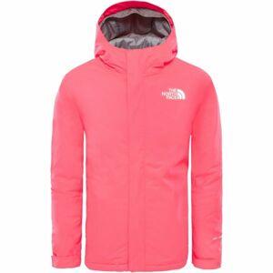 The North Face YOUTH SNOW QUEST JACKET růžová XS - Dětská zateplená bunda