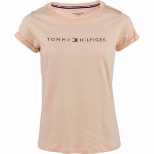 Tommy Hilfiger RN TEE SS LOGO  L - Dámské tričko