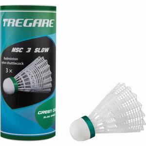 Tregare NSC 3 SLOW WHITE  NS - Badmintonové míčky