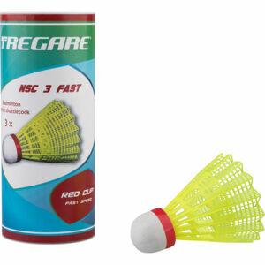 Tregare NSCW 3 FAST YELLOW  NS - Badmintonové míčky