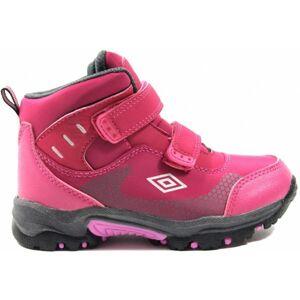 Umbro JON růžová 34 - Dětská treková obuv