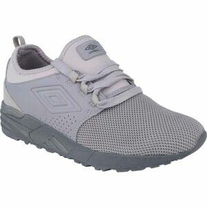 Umbro ASPIN II tmavě šedá 7.5 - Pánská volnočasová obuv