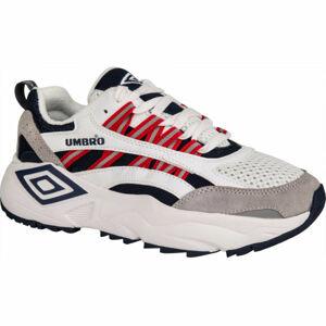 Umbro NEPTUNE LE bílá 6 - Pánská volnočasová obuv